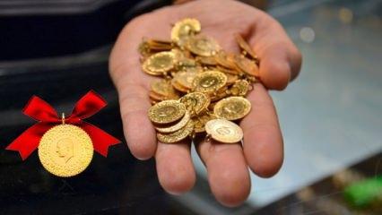 Altın fiyatları düşüş devam ediyor 17 Ekim (Çeyrek altın ve Gram altın) kaç TL?