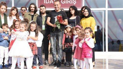 Haluk Levent'ten Emine Bulut'un kızına ziyaret!