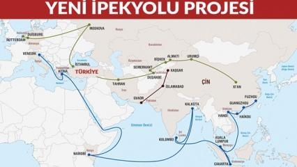 İpek yolu projesi nedir? Hangi ülkeleri kapsayacak ne zaman bitecek?