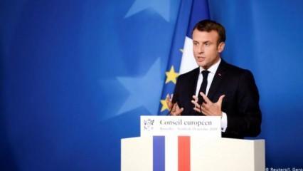 Macron'dan küstah sözler: 'Sorumlusu Türkiye'dir!'
