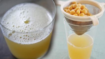 Aquafaba nedir? Nohut suyu ile zayıflama! Zayıflamak için nohut suyu nasıl kullanılır?
