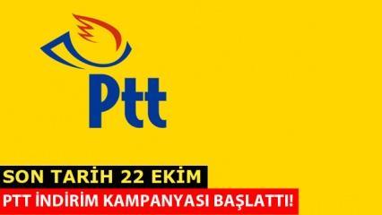 PTT indirim kampanyası başlattı! İşte açıklanan indirim oranı
