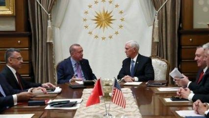 Türkiye ile ABD arasında 13 maddelik ortak anlaşma! İşte anlaşmanın maddeleri