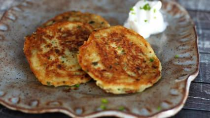 Patatesli pankek nasıl yapılır? En kolay patatesli pankek tarifi