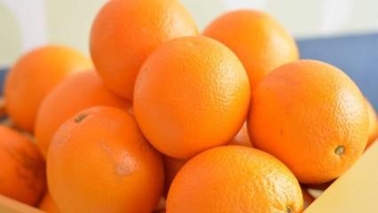 Portakalın cilde faydaları nelerdir? Portakal kabuğu maskesi ne işe yarar? Sivilceler için...