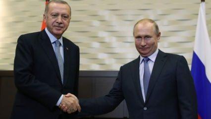 Erdoğan-Putin görüşmesi başladı! İlk sözler...