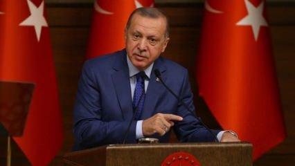 Erdoğan'dan Avrupa'ya 'Zamanı gelince salarız' resti