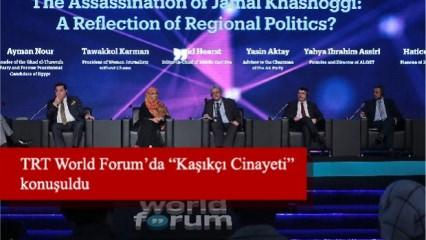 """TRT World Forum'da """"Kaşıkçı Cinayeti"""" konuşuldu"""