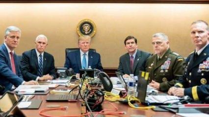 Trump, Bağdadi'nin ölümünü böyle izledi