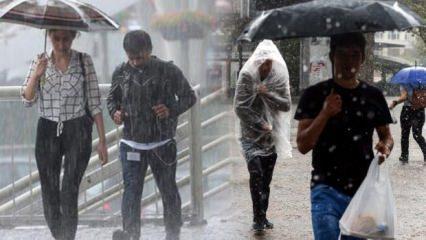 Meteoroloji'den son dakika sağanak yağış uyarısı: 28 ve 29 Ekim hava durumu raporu