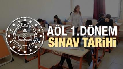 2019 AÖL sınav tarihleri belli oldu | MEB Açık Lise 1.dönem sınav takvimi