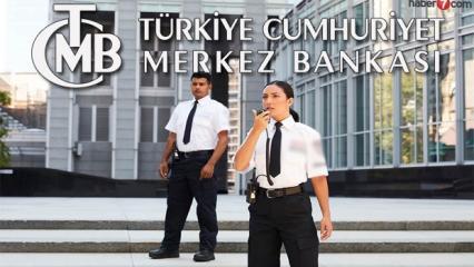 Merkez Bankası güvenlik görevlisi alımı devam ediyor!
