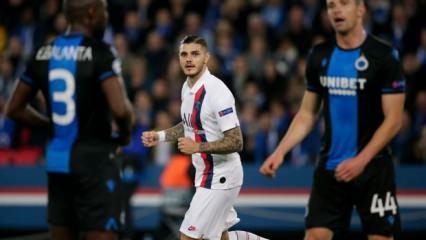 Diagne penaltı kaçırdı, PSG son 16'yı garantiledi!