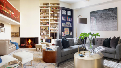 Kare salon dekorasyonu nasıl yapılmalı? 2019 kare salon dekorasyonu örnekleri