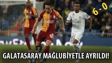 Real Madrid Galatasaray geniş maç özeti! Maç sonucu: 6 - 0