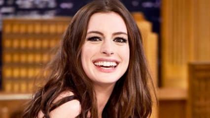 Anne Hathaway 37 yaşına girdi!