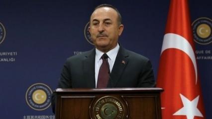 Bakan Çavuşoğlu'ndan DEAŞ Karşıtı Koalisyon'a PKK çağrısı