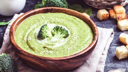 En kolay brokoli çorbası nasıl yapılır? Brokoli çorbasının püf noktaları