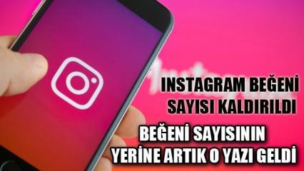 Instagram beğeni sayısı kaldırıldı: İşte Instagram beğeni sayısının yerine gelen detay!