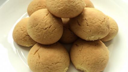 Sade çok kolay kurabiye tarifi! En pratik kurabiye nasıl yapılır?
