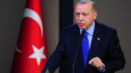 Erdoğan 'tutuştular' deyip duyurdu: Bugünden sonra...