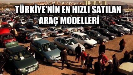 Türkiye'nin en hızlı ve çabuk satılan ikinci el araba modelleri! İşte tam liste