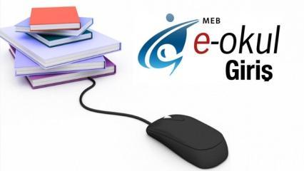 VBS E-Okul öğrenci girişi ! 2019 MEB sınav sonucu ve devamsızlık durumu