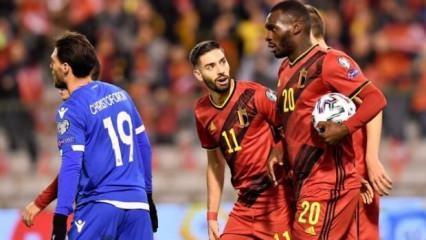 Belçika Güney Kıbrıs'ı gole boğdu! 10'da 10!