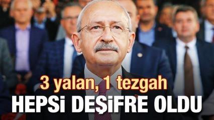 Kılıçdaroğlu'ndan 3 yalan 1 tezgah
