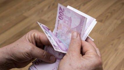 2020 emekli maaşı zam oranları açıklandı!