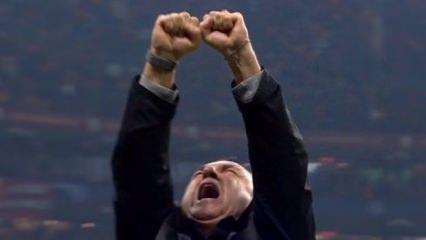 Gol sonrası Fatih Terim: Allahu Ekber