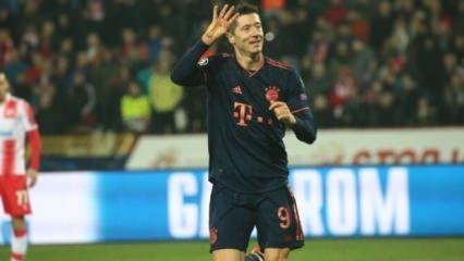 Lewandowski coştu, Bayern gol yağdırdı!