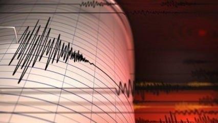 Ankara'da deprem meydana geldi