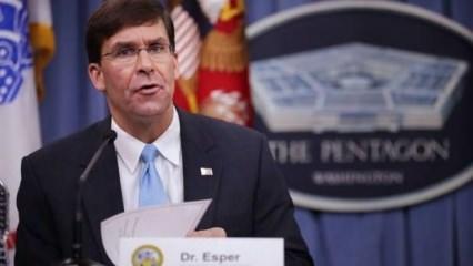 Son dakika haberi: ABD Savunma Bakanı Esper'den İncirlik ve Kürecik açıklaması
