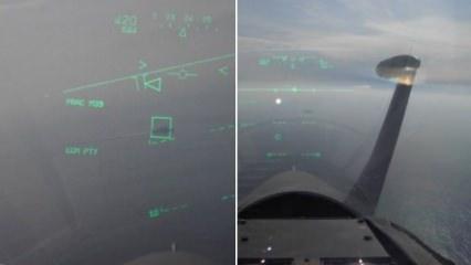 Yunan pilot, Türk gemisini hedefe kilitledi!