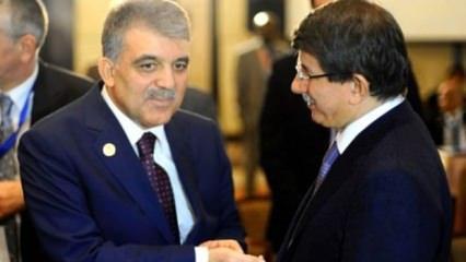 Abdullah Gül Davutoğlu'nu aradı