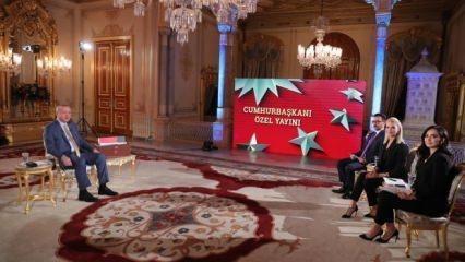Erdoğan canlı yayında açıkladı:  Yunanistan'ın eli kolu bağlandı