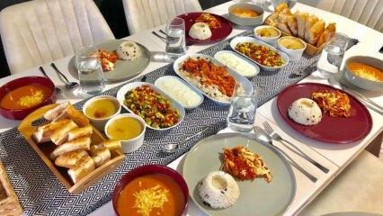 Kalabalık misafire ne yapılır? Kalabalık misafirler için pratik misafir menüsü