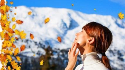 Soğuk havalardan cilt nasıl korunur? Kışın cildi korumanın en pratik yöntemleri