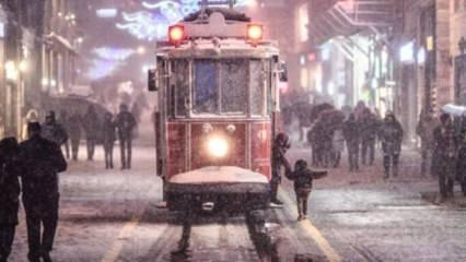 İstanbul için son dakika kar yağışı açıklaması geldi
