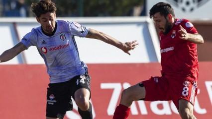 Beşiktaş ecel teri döktü ama turladı!