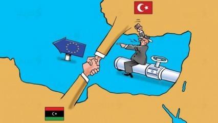 Arap karikatüristler Türkiye-Libya anlaşmasını böyle gördü