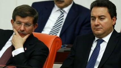 Davutoğlu ve Babacan'a kötü haber: Rakamlar açıklandı!