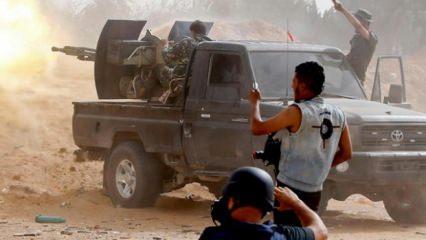Hafter yerleşim yerlerine füzeyle saldırdı