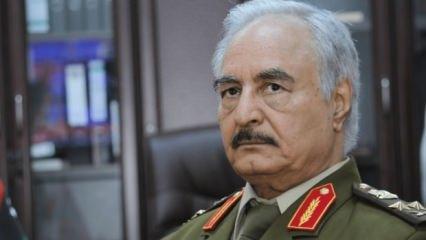 Libya'da Hafter'in mevzilerini vurdular