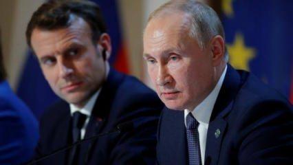 Putin ve Macron'dan Libya görüşmesi