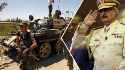 Son dakika: Libya'da Hafter'le skandal görüşme! Küstah 'Türkiye' çıkışı