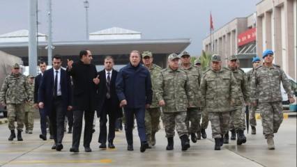 Bakan Akar'dan Libya açıklaması: Asker hazır