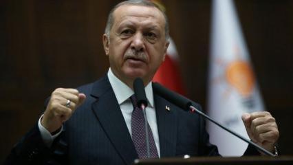 Erdoğan'dan yeni yıl mesajı: 10 yılda neler yaptık?