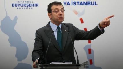 Ekrem İmamoğlu'nun Kanal İstanbul'la ilgili bir iddiası daha çürüdü!